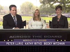 Kathy Ritvo, trainer of Breeders' Cup Classic contender Mucho Macho Man, joins Peter and Becky on the latest edition of Across the Board.