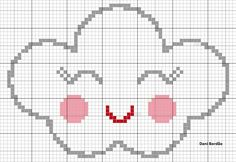 This Pin was discovered by Môn Cross Stitching, Cross Stitch Embroidery, Cross Stitch Patterns, Crochet Patterns, Pixel Crochet Blanket, Tapestry Crochet, Cross Stitch Baby, Crochet Diagram, Plastic Canvas Patterns