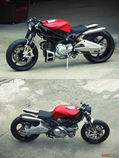 Ten years ago, Ducati caused a flurry of interest in the custom world with its International Design Contest. The winner was an unknown young German designer called Jens vom Brauck, with a stunning concept called 'Flat Red.' Vom Brauck now runs the custom workshop JvB-Moto and he's just released Flat Red II, based on the Ducati Monster 1100. Could this be the greatest custom Ducati of the 21st century so far?