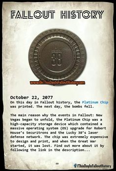 Fallout History                                                                                                                                                                                 More
