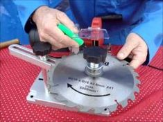 How I sharpen Table Saw Blades - In real time - YouTube