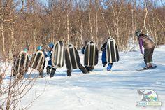 Airboard er en temmelig ny vintersportsgren der man bruker et oppblåsbart brett, en «luftmadrass», med styrefinner/riller på undersiden. Brettet har to håndtak på siden som man holder i. Airboardet er laget i et lett og mykt kunststoffmateriale som minimerer risikoen for skader, her er ingen skarpe stålkanter eller harde deler.
