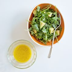 A simple salad dressing (that's a little more complex than oil and vinegar) Tyler Florence Recipes, Spinach, Salads, Salad, Chopped Salads