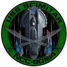 USS Scimitar Mission Patch by Wolfcrest1701 on DeviantArt