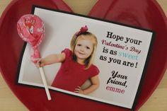 Life Made Simple: Tootsie Pop Valentines