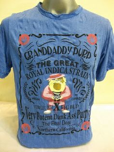 b1a35b7d699a3 Sure Design Granddaddy Purple Classic Cannabis Marijuana Weed Strain Tshirts