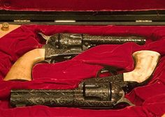 "Guns made for John Wayne by Great Western used by the Duke in ""The Shootist"" (1976)"