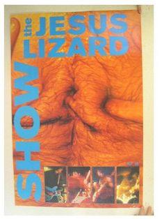 SHOW poster The Jesus Lizard
