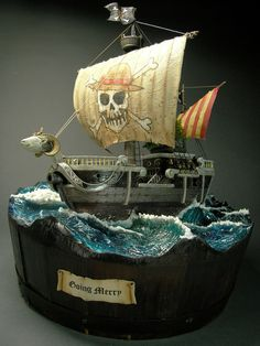 Going Merry - Pirates ship 1/100 Scale Model Diorama
