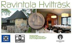 HVITTRÄSK Tervetuloa Ravintola Hvitträskin www-sivuille Finland, Restaurants, Garlic, Diners, Restaurant