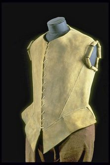 Buff leather Jerkin 1571-1590 Museum of London