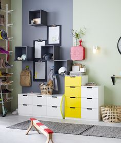 Smart storage solutions with smart design in mind.