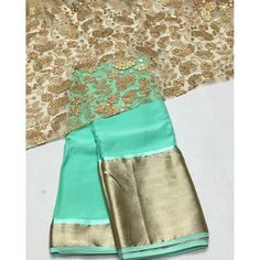 """""""Mint green chiffon Saree with gold emboridery blouse To purchase mail us at houseof2@live.com or whatsapp us on +919833411702 for further detail #sari #saree #sarees #sareeday #sareelove #sequin #silver #traditional #ThePhotoDiary #traditionalwear #india #indian #instagood #indianwear #indooutfits #lacenet #fashion #fashion #fashionblogger #print #houseof2 #indianbride #indianwedding #indianfashion #bride #indianfashionblogger #indianstyle #indianfashion"""" Photo taken by @house_of_2 on…"""