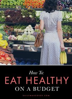 how to eat healthy on a budget