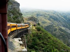 Taieri Gorge Railway by BenetS, via Flickr