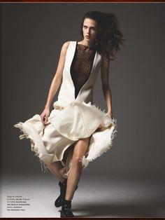 awesome Numéro Magazine #142   Editorial de Moda Abril 2013   Aymeline Valade por Richard Bush