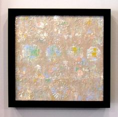 Textured acrylic painting by Sheila Wenzel-Ganny