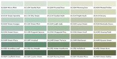 grün wandfarben erdfarben benjamin moore farben