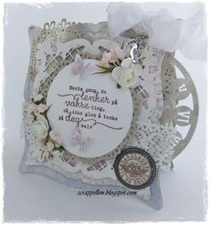 Shabby chic, sentiments from Kort og Godt♥