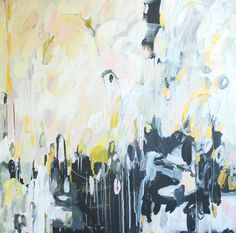 Love this painting - can be used well in white, pale grey living room set up.....