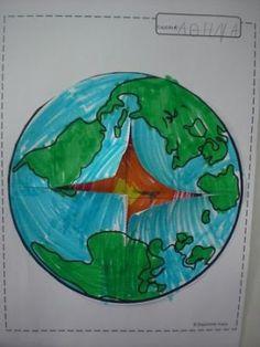Πυθαγόρειο Νηπιαγωγείο: Γη- σεισμός - ηφαίστειο Volcanoes, Solar System, Planets, Kindergarten, Education, Space, School, Blog, Science Fun