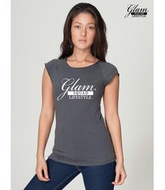 Branded Jersey knit top. $23.00. Paypal payments accepted. Email: www.glamsquadlifestyle.com