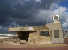 Les plages du débarquement en Normandie, bernières sur mer