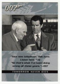 James Bond - The Quotable # 23 - Tomorrow Never Dies