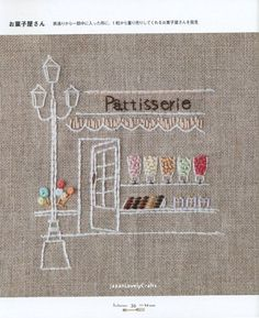 Sweets Stumpworks by Atelier Fil - Japanese Embroidery Pattern Book