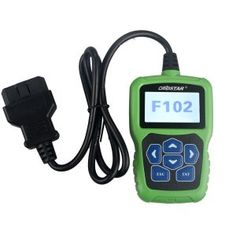 OBDSTAR F102 is used to read pin code, program auto keys and correct mileage of Nissan/Infinite vehicles. OBDSTAR Nissan/Infiniti Automatic Pin Code Reader F102 support one key upgrade.