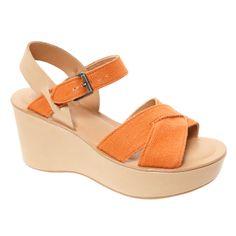 4f04b1e99c3 Orange Platform Sandals for £39.99  fabfind