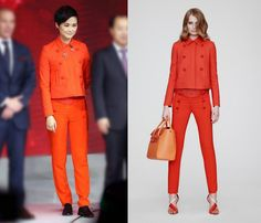 Li Yuchun (Chris Lee) In Comme des Garçons, Fendi & Versace - In Concert & Promo Tour