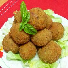 ...e dopo...polpette di patate e verdure. .:-)..#smile#gnam#beautiful#food#good#cucinanapoletana#cucinaitaliana#love#followme#instagram#