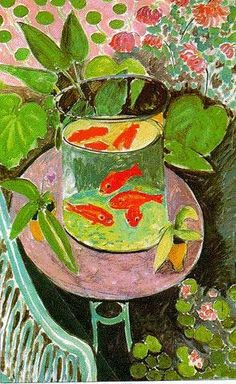 The Goldfish Henri Matisse