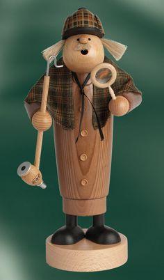 Räuchermann Sherlock Holmes, 25cm