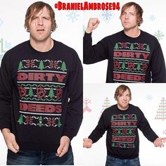 OMG! I love These Pictures of Dean ❤️ and I love His Ugly Sweater.