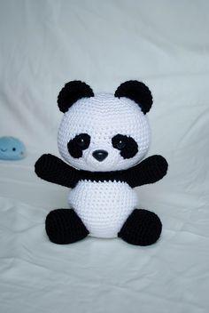 Ravelry: Panda Bear - Amigurumi Animals Crochet Pattern pattern by Jayme Khoo