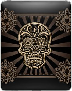 We think this ZAGGskin for iPad is pretty stellar.  Nice design, guys!  Love the Day of the Dead vibe.