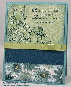 Always looking for a sympathy card idea