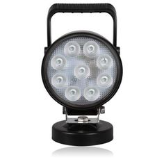NEW 1700 Lumen 9 LED Adjustable Work Lights  Magnetic Mount MWL 37 (