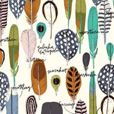 Sarah Watson - Birds Eye View - Birds of a Feather in Multi