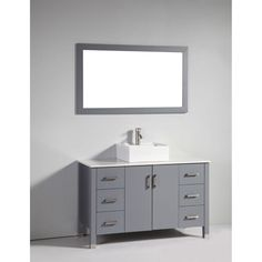 Upgrade your bathroom decor with this beautiful vanity. Crafted with  solid oak  , this vanity will easily complement any interior setting.