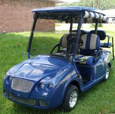 Golf Cart Excalibur Gt Body Kit Fits Txt and Precedent Front Only - AOL Image Search Results Custom Golf Cart Bodies, Custom Golf Carts, Golf Cart Body Kits, Custom Body Kits, Bentley Continental, Vintage Cars, Classic Cars, Fitness, Image Search