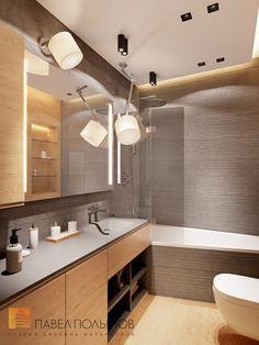 Фото: Ванная комната - Квартира в современном стиле