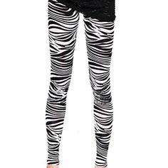 Buy Vevo Zebra Stripes Legging by SHIV SYNTHETICS, on Paytm, Price: Rs.275?utm_medium=pintrest