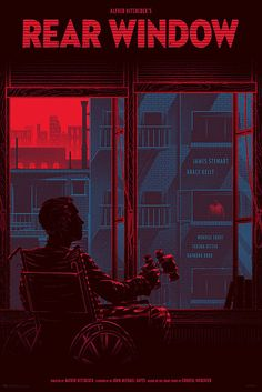 "on of my favorite films ""Rear Window"" - Kevin Tong - http://tragicsunshine.com/"
