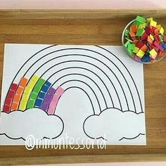 Coordenação motora - So Tutorial and Ideas Preschool Learning Activities, Preschool Crafts, Toddler Activities, Preschool Activities, Kids Learning, Kids Crafts, Spring Crafts For Kids, Toddler Crafts, Art For Kids