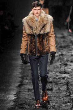 Fendi Men's Fall/Winter 2014-15 Fashion Show from HEspiration.com — MORE » FASHION / GUYS / GIRLS / CARS — WEBSITE / PINTEREST / TWITTER / FACEBOOK / INSTAGRAM / TUMBLR