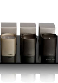 Ex Voto Paris candles _ available in luxury hotels and spas _