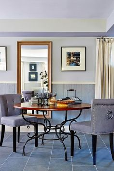 """The paneling on these walls cost less than $20 per 4' x 8' sheet and is a composite fibreboard with a rustic rough sawn wood texture. I'm generally not a fan of anything """"faux"""" but once installed and painted, it looks great"""